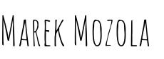 Marek Mozola - Marketingový poradce